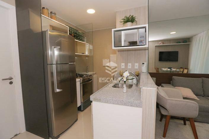 Apartamento com 3 quartos à venda, 68 m², novo, 2 vagas, área de lazer, financia - Fátima - Fortaleza/CE