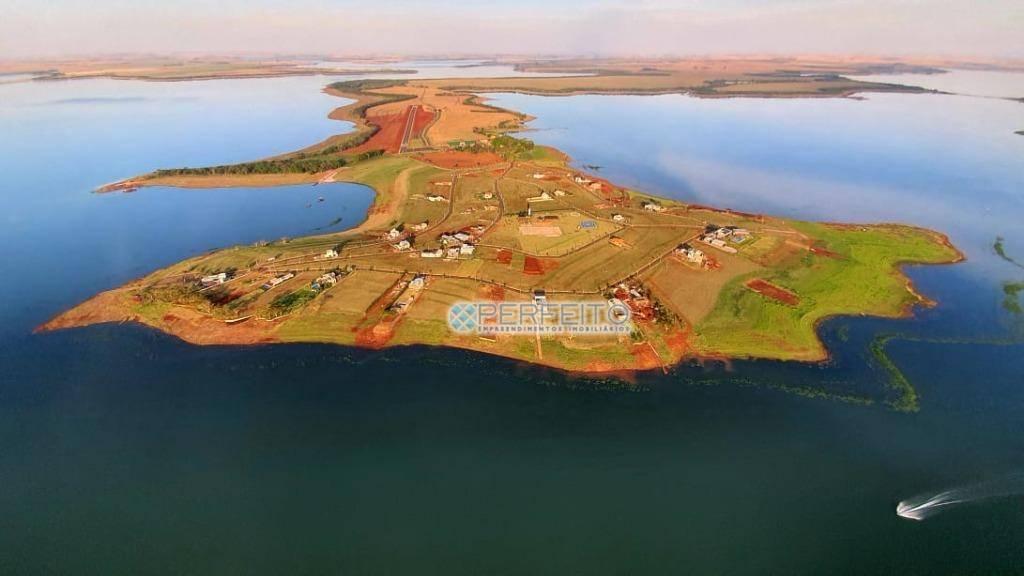 Terreno à venda, 822 m² por R$ 590.000,00 - Punta Del Este - Sertaneja/PR