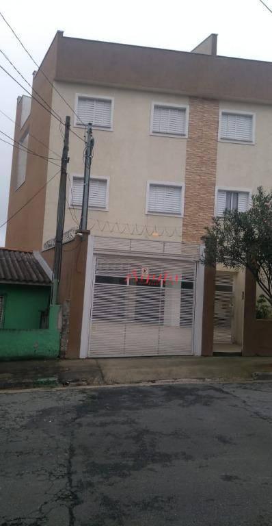 Cobertura residencial à venda, Cidade São Jorge, Santo André.