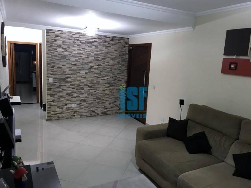 Sobrado com 3 dormitórios à venda, 138 m² por R$ 620.000 - Jardim D Abril - Osasco/SP - SO4707.