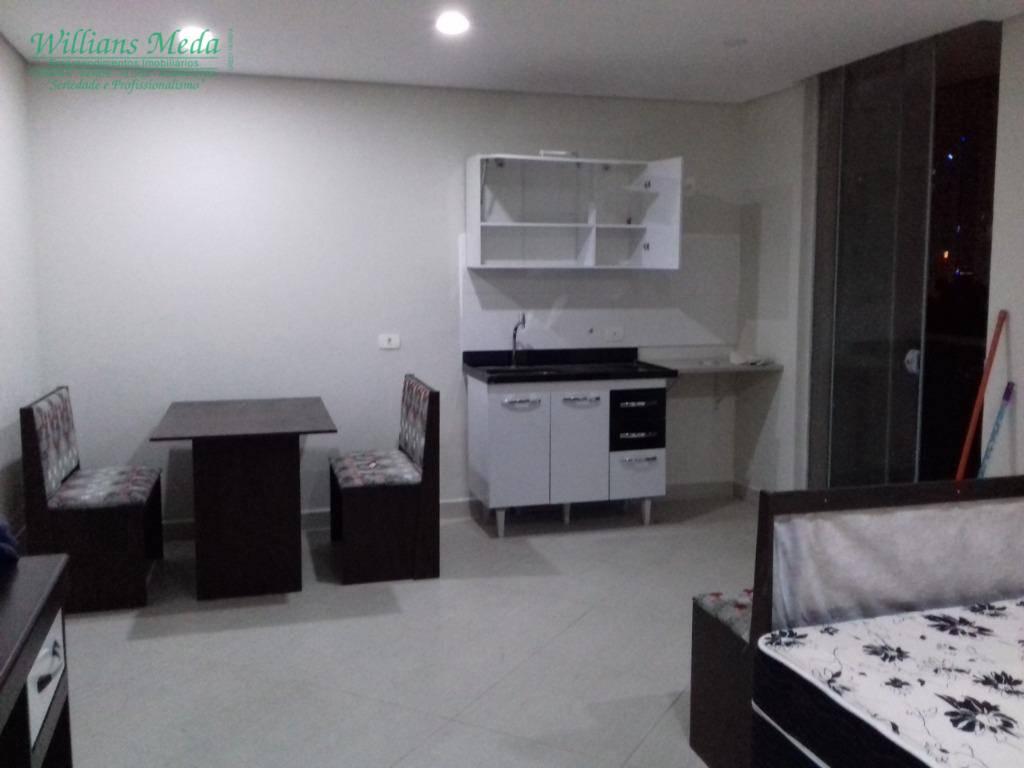 Studio com 1 dormitório à venda, 36 m² por R$ 240.000,00 - Vila Augusta - Guarulhos/SP
