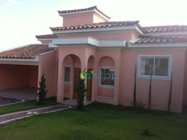 Vinhedo - Casa com 3 Suites estilo Toscana Mobiliada: Condominio Fechado Lazer Completo