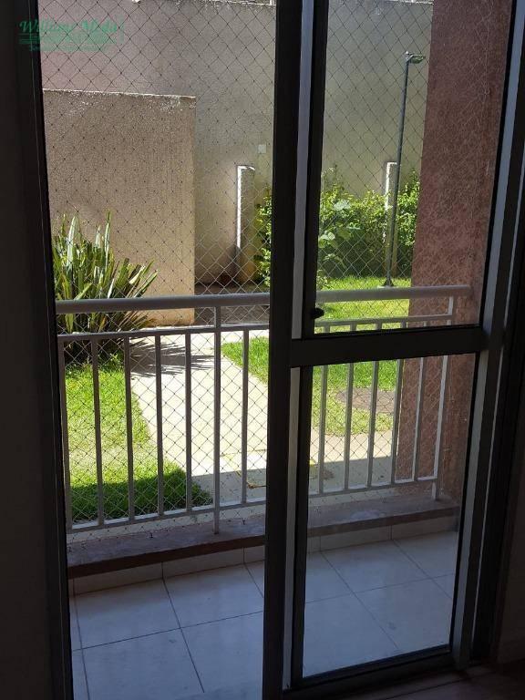 Apartamento com 2 dormitórios à venda, 49 m² por R$ 245.000 - Jardim Rossi - Guarulhos/SP