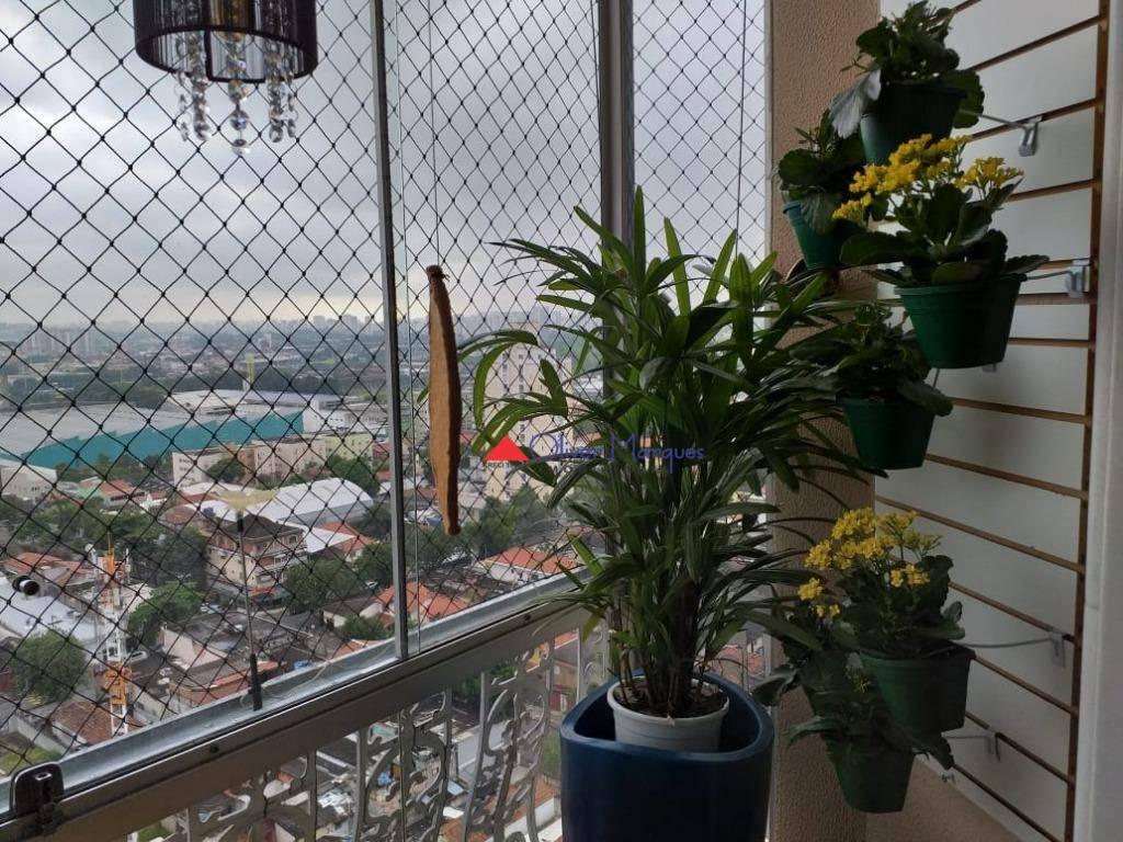 Apartamento com 2 dormitórios à venda, 72 m² por R$ 550.000 - Presidente Altino - Osasco/SP
