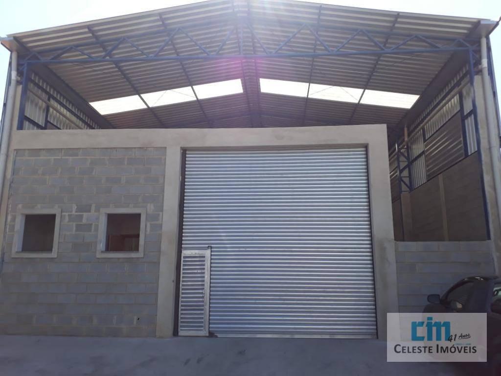 Barracão para alugar, 237 m² por R$ 5.000/mês - Chácara Labronici - Boituva/SP