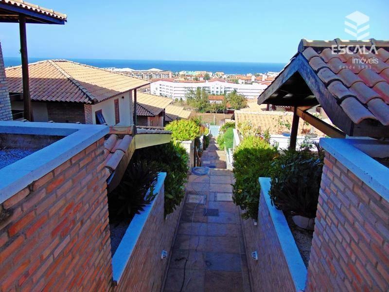 Casa com 3 dormitórios, 117 m² - venda por R$ 460.000,00 ou aluguel por R$ 2.800,00/mês - Porto das Dunas - Aquiraz/CE