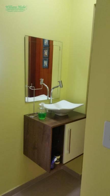 Sobrado com 3 dormitórios à venda, 140 m² por R$ 630.000 - Vila Augusta - Guarulhos/SP
