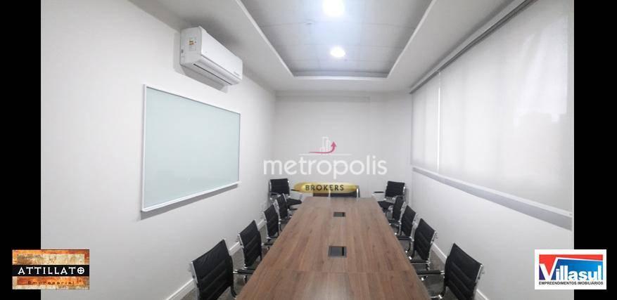 Sala à venda, 187 m² por R$ 1.590.000 - Vila Bastos - Santo André/SP