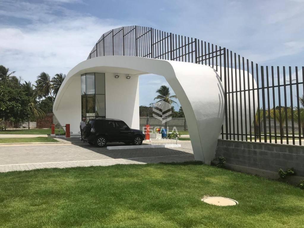 Lote à venda Jardins das Dunas, 253 m², condomínio fechado, financia - Mangabeira - Eusébio/CE