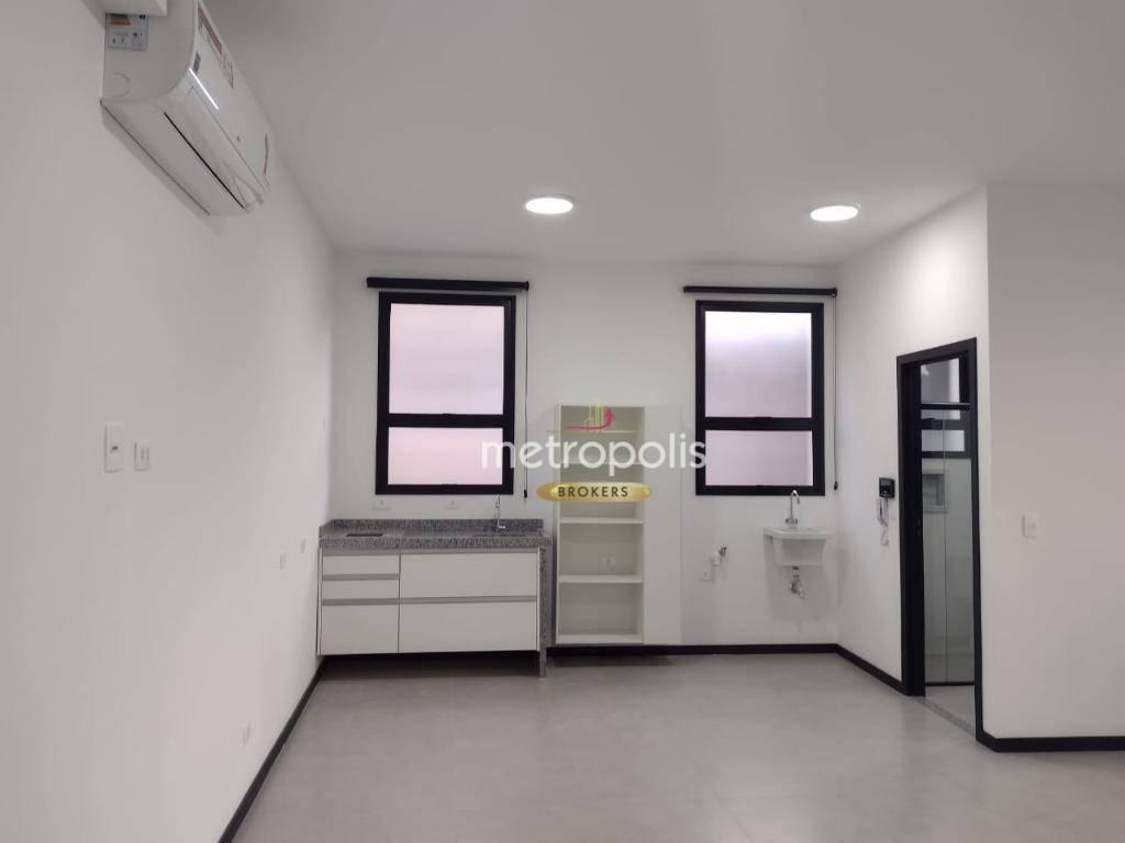 Studio para alugar, 42 m² por R$ 2.280,00/mês - Santo Antônio - São Caetano do Sul/SP