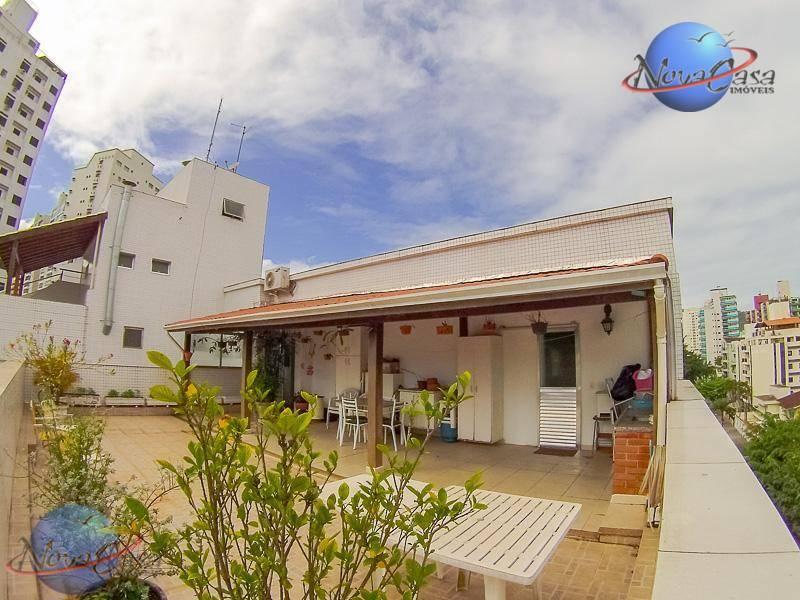 Cobertura no Guarujá com 03 dormitórios à venda, 234 m² - Astúrias - Guarujá/SP