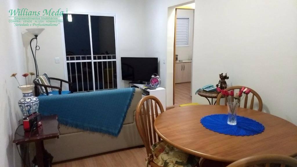 Apartamento com 2 dormitórios à venda, 56 m² por R$ 245.000 - Vila Sirena - Guarulhos/SP