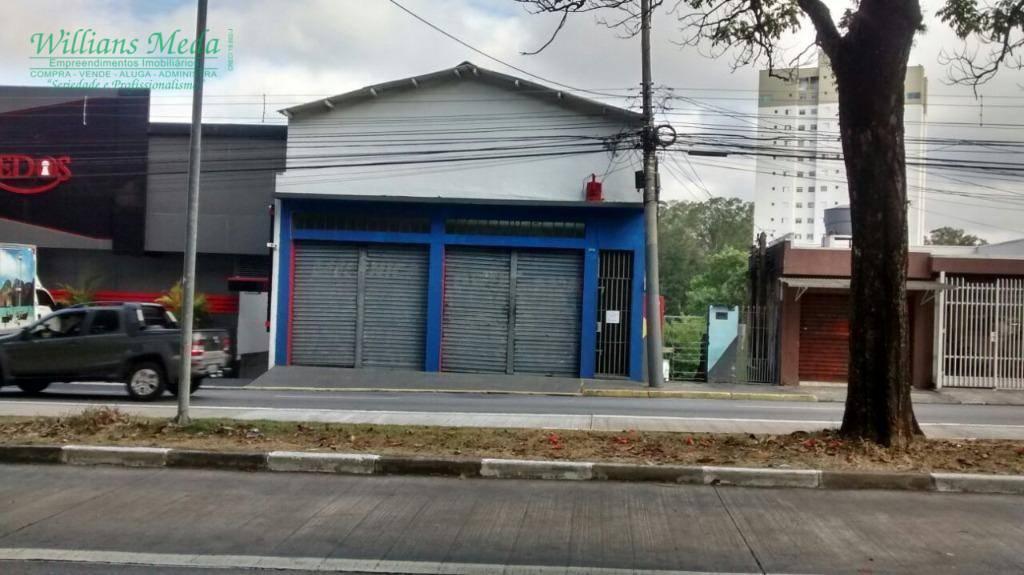 Salão comercial à venda, Vila Augusta, Guarulhos.
