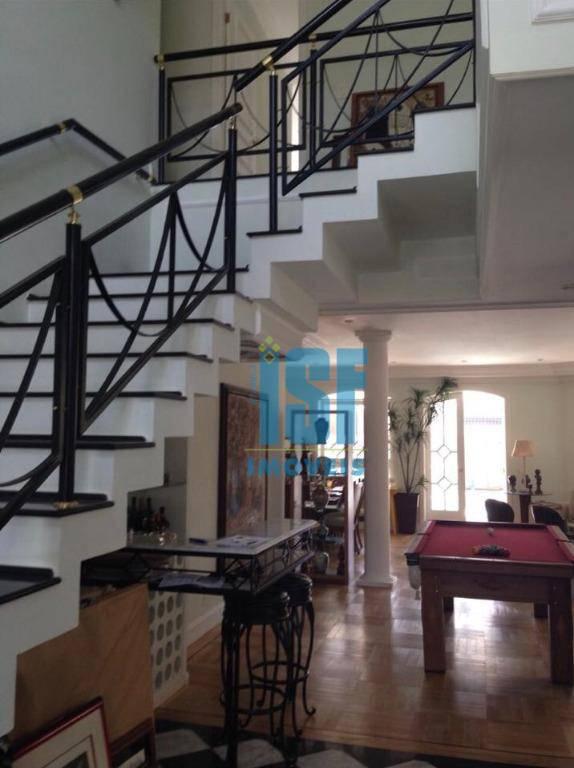 Sobrado com 5 dormitórios à venda, 600 m² por R$ 1.800.000 - Morada das Flores (Aldeia da Serra) - Santana de Parnaíba/SP - SO4665.