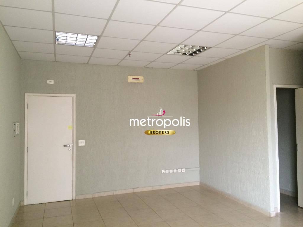 Sala para alugar, 34 m² por R$ 1.500/mês - Santa Paula - São Caetano do Sul/SP