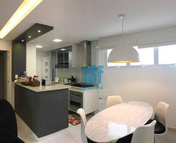 Apartamento com 3 dormitórios à venda, 132 m² por R$ 2.500.000 - Riviera de São Lourenço - Bertioga/SP - AP20611.