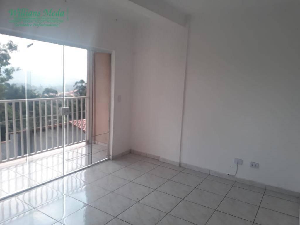 Apartamento com 3 dormitórios para alugar, 68 m² por R$ 1.100/mês - Parque Continental II - Guarulhos/SP