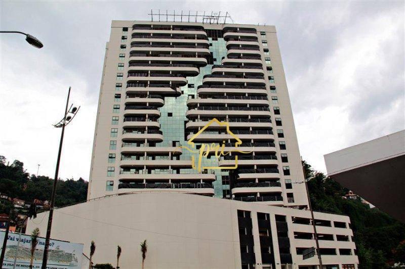Sala à venda, 43 m² por R$ 170.000,00 - Valongo - Santos/SP