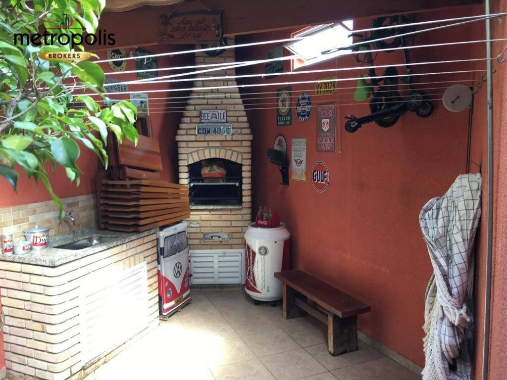 Sobrado com 2 dormitórios à venda por R$ 630.000 - Campestre - Santo André/SP