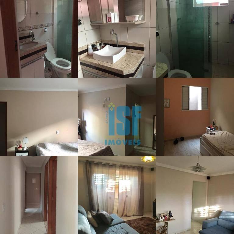 Casa com 3 dormitórios à venda, 250 m² por R$ 600.000 - Núcleo Residencial Porto Seguro - Itatiba/SP