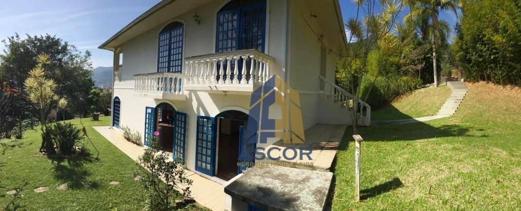 Casa com 5 dormitórios para alugar, 405 m² - Monte Verde - Florianópolis/SC