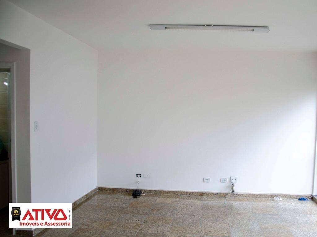 Sala para alugar, 43 m² por R$ 890,00/mês - Jardim do Mar - São Bernardo do Campo/SP