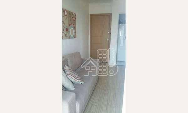 Apartamento com 2 dormitórios à venda, 55 m² por R$ 240.000,00 - Fonseca - Niterói/RJ