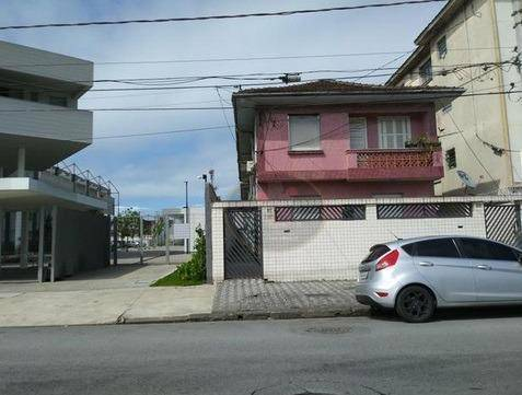 Casa com 2 dormitórios para alugar, 70 m² por R$ 1.650/mês - Vila Matias - Santos/SP