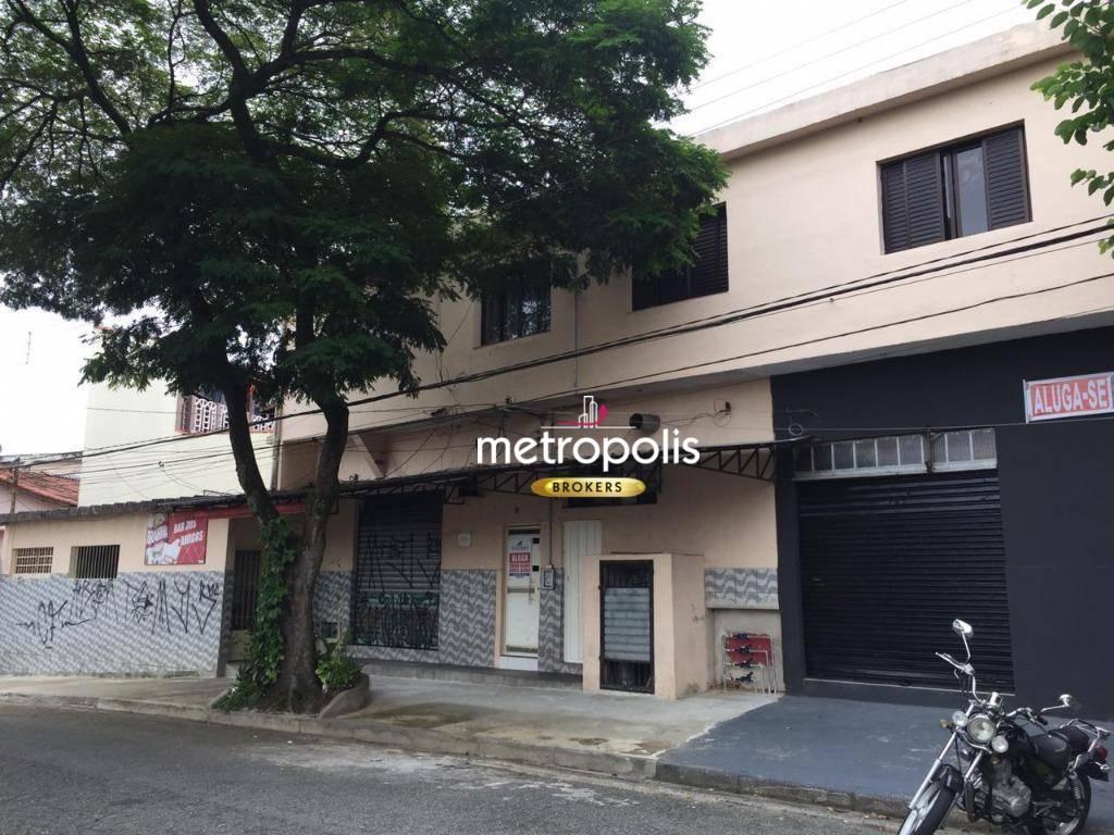 Sobrado comercial com 4 dormitórios à venda, 450 m² por R$ 1.300.000 - Vila Curuçá - Santo André/SP