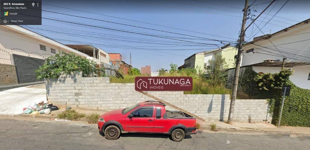 Terreno à venda, 788 m² por R$ 1.755.000,00 - Vila Galvão - Guarulhos/SP