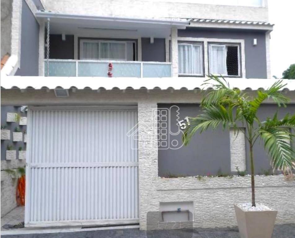 Casa com 4 dormitórios à venda, 150 m² por R$ 480.000,00 - Pacheco - São Gonçalo/RJ
