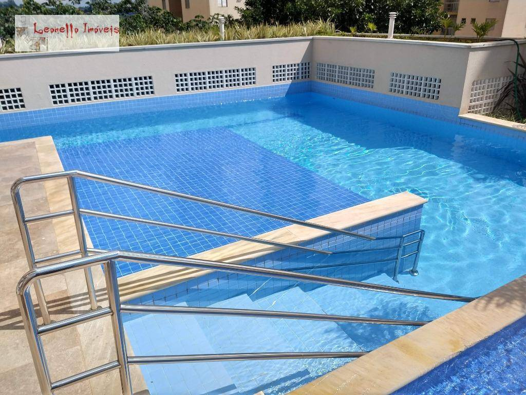 Apartamento com 2 dormitórios para alugar; 56 m² por R$ 1.450/mês - Vila Scarpelli - Santo André/SP