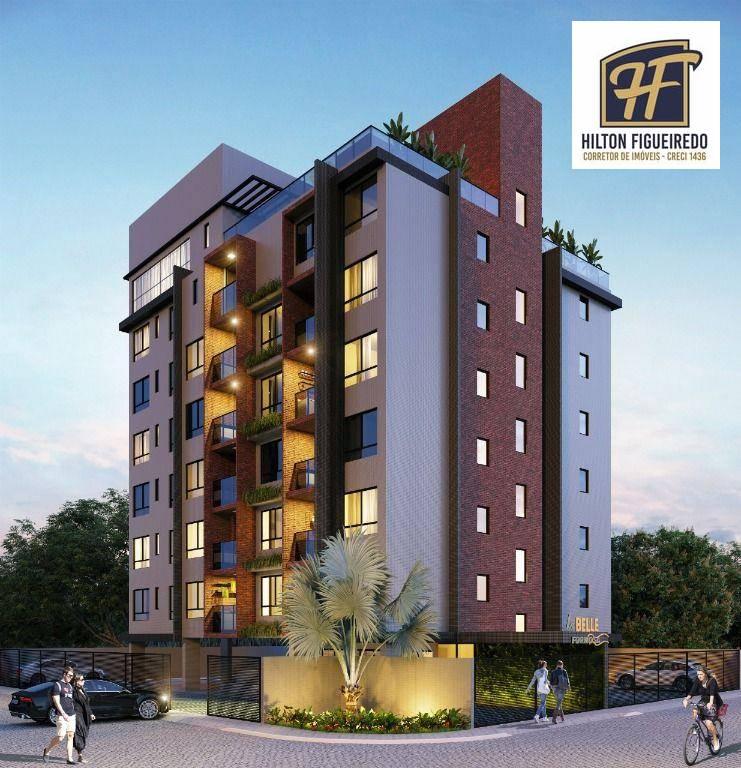 Apartamento com 3 dormitórios à venda, 65 m² por R$ 353.000,00 - Monte Castelo - Cabedelo/PB
