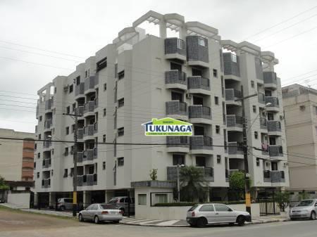 Apartamento residencial à venda, Parque Enseada, Guarujá - AP0546.