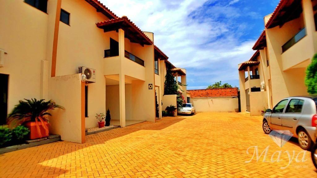 Sobrado 3 Quartos, 197 m² c/ varanda gourmet na 110 Norte - Condomínio Milena