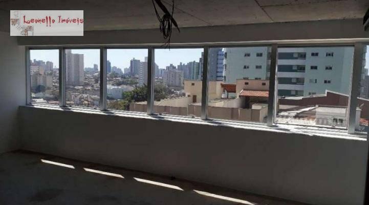Sala à venda e locação, 42 m² - Vila Bastos - Santo André/SP