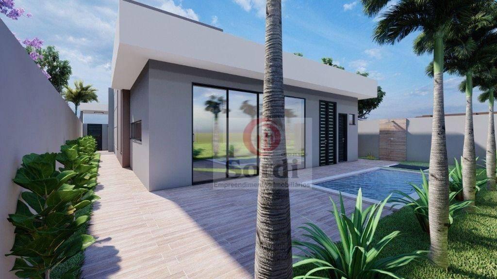 Casa com 3 dormitórios à venda, 177 m² por R$ 1.220.000,00 - Quinta dos Ventos - Ribeirão Preto/SP