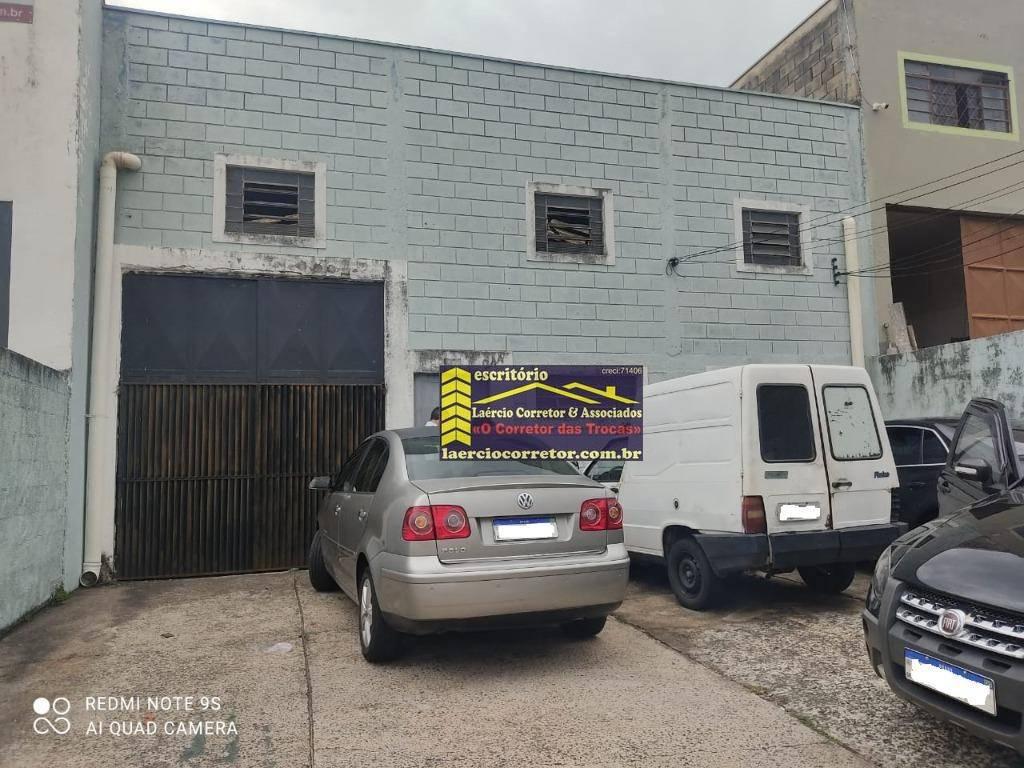 Barracão à venda, 206m² por R$ 520.000 - Parque Via Norte - Campinas/SP