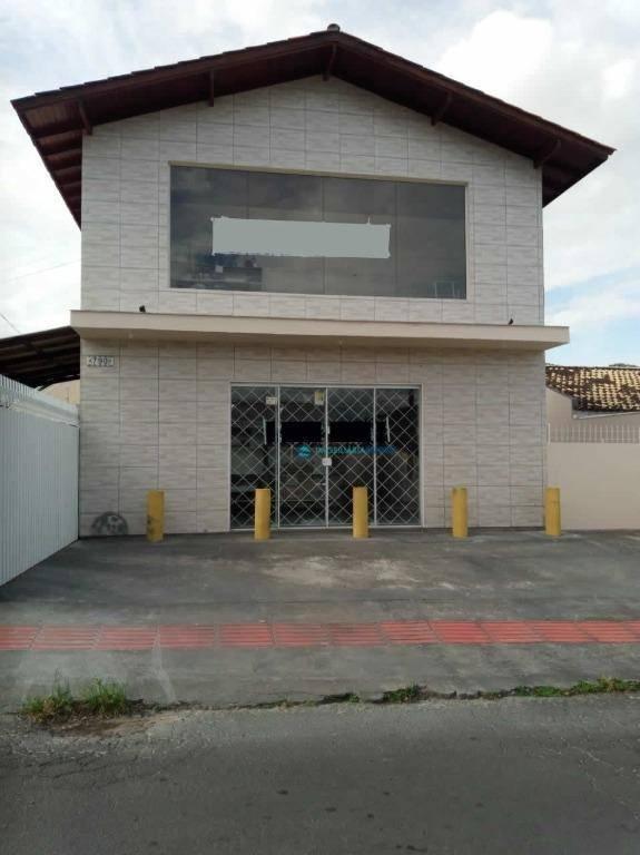 Casa com sala comercial no bairro São Sebastião em Palhoça