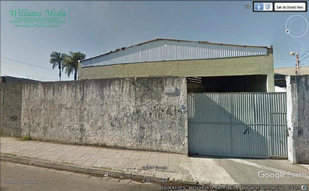 Galpão comercial à venda, Jardim Bom Clima, Guarulhos.