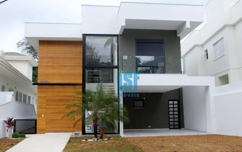 Sobrado residencial à venda, Granja Viana, Cotia - SO4656.