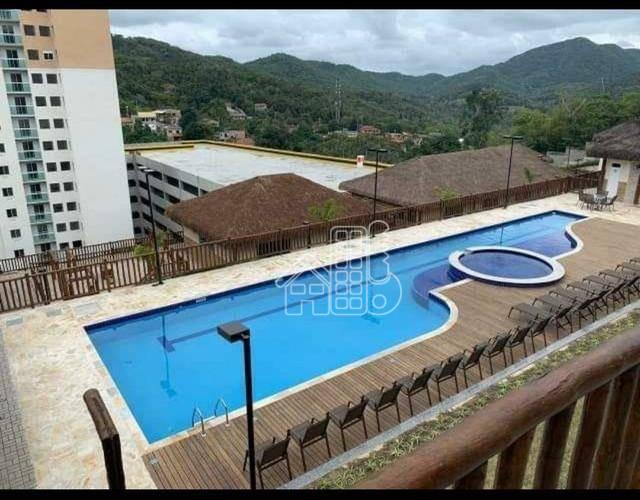 Apartamento com 2 dormitórios à venda, 57 m² por R$ 249.000,00 - Rio do Ouro - São Gonçalo/RJ