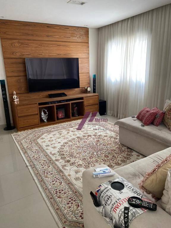 Apartamento com 3 dormitórios à venda, 142 m² por R$ 1.300.000,00 - Mooca - São Paulo/SP
