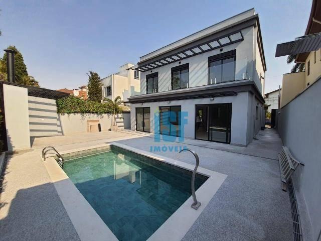 Sobrado com 4 dormitórios à venda, 245 m² por R$ 2.500.000 - Alphaville 03 - Santana de Parnaíba/SP - SO5661.