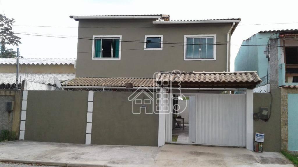 Rua João Martins, 21, BNH, Magé. -Casa de 2 andares com duas lajes; -3 Quartos; 1 Banheiro social; 1 lavabo; -2 salas; Ampla coz
