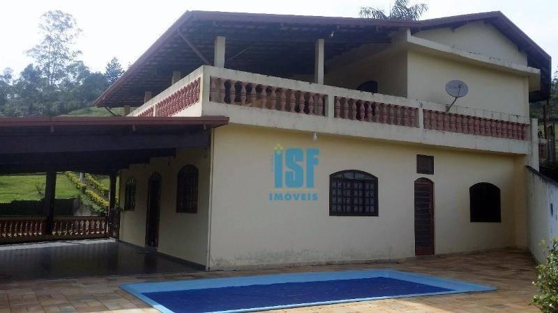 Chácara com 4 dormitórios à venda, 17300 m² por R$ 650.000 - Fazenda Vitoria - São Lourenço da Serra/São Paulo - CH0016.