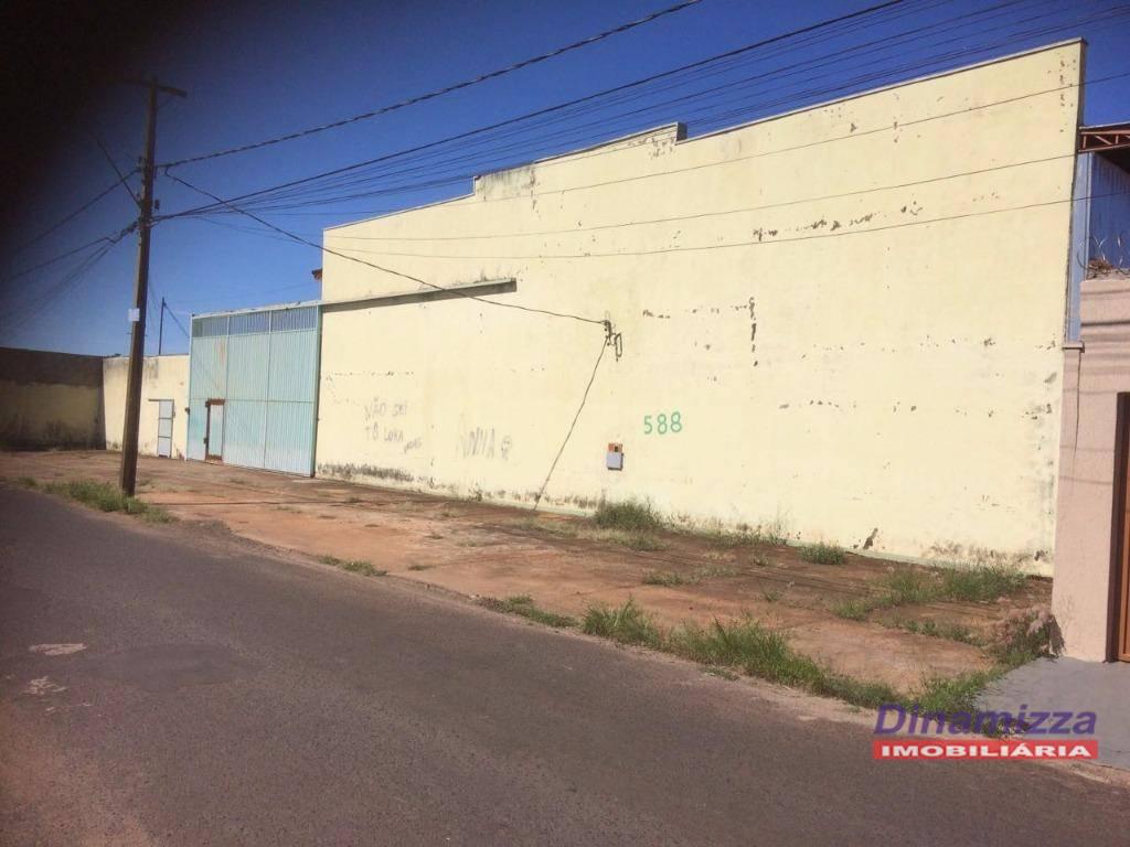 Galpão comercial à venda, Recreio dos Bandeirantes, Uberaba - GA0094.