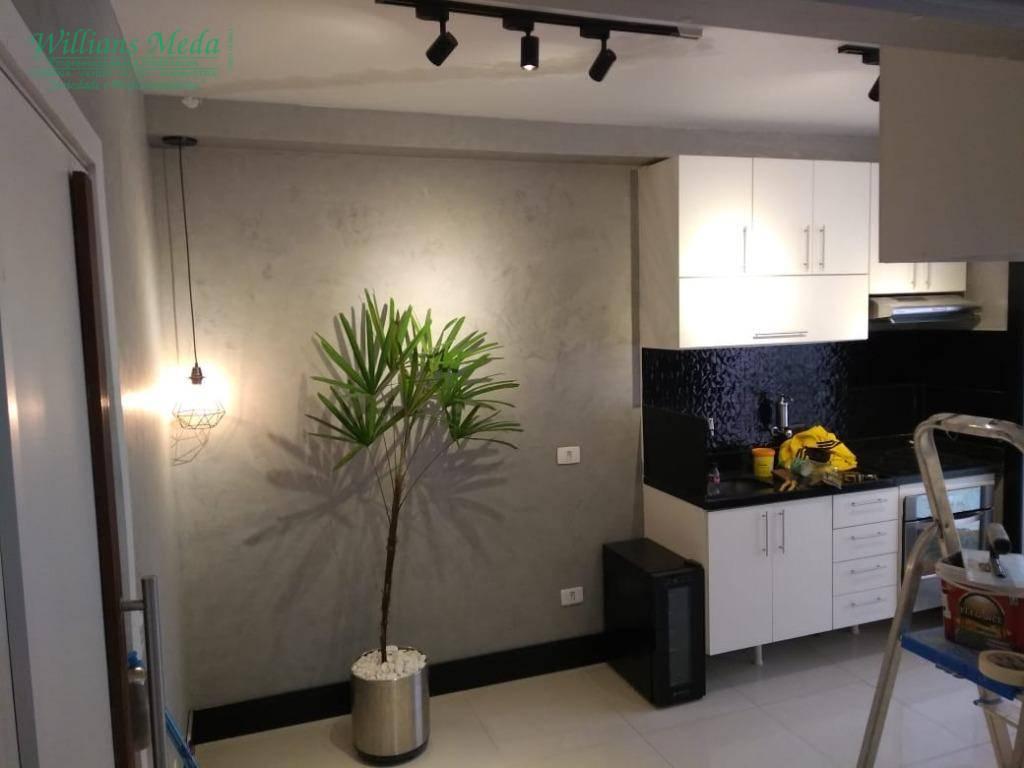 Studio com 1 dormitório à venda, 38 m² por R$ 285.000,00 - Vila Augusta - Guarulhos/SP