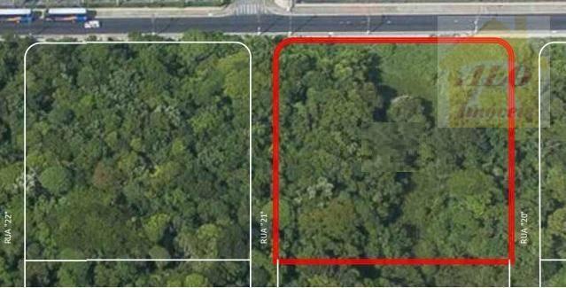 Terreno à venda, 4415 m² por R$ 10.700.000,00 - Mirim - Praia Grande/SP