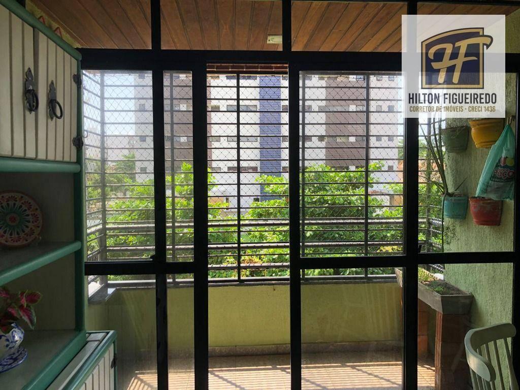 Apartamento com 3 dormitórios à venda, 98 m² por R$ 400.000,00 - Ponta de Campina - Cabedelo/PB